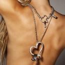 """UNO de 50 """"Heartfelt"""" Necklace COL0732"""