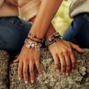 "UNO de 50 ""Elastic Love"" Bracelet PUL1288"