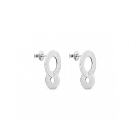 JOIDART Cercles Silver Earrings