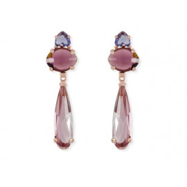 Rose Gold Sterling Silver Swarovski® Earrings