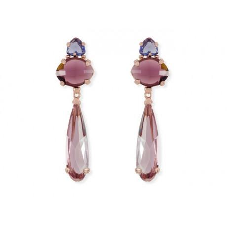 Rose Gold Sterling Silver Swarovski® Earrings