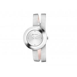Reloj ELIXA Acero Correa Piel E092-L352