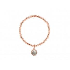 BRONZALLURE Quartz & Rose Gold Bracelet