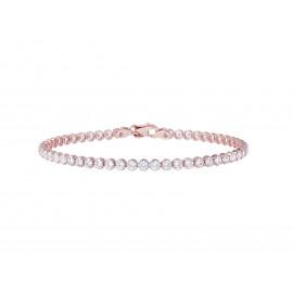 BRONZALLURE Zirconia Tennis Bracelet