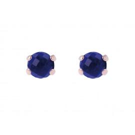 BRONZALLURE Gemstone Stud Earrings