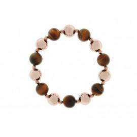BRONZALLURE Stone Bead Bracelet