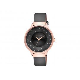Reloj ELIXA Acero Rosado y Piel E117-L476