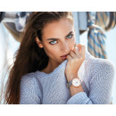 ELIXA Women's Rose Gold and Leather Watch E088-L333-K1