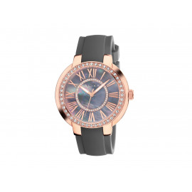 ELIXA Women's Rose Gold Watch with Silicon Strap E094-L363