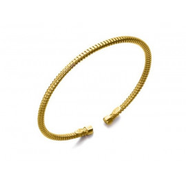 LE CARRE Gold Plated Silver Bracelet