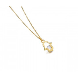 LE CARRE Gold Plated Silver Necklace
