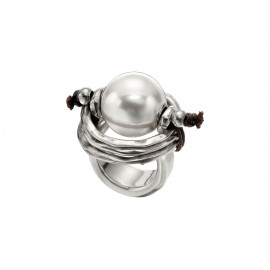 "UNO de 50 ""Pearl of Wisdom"" Ring ANI0390"