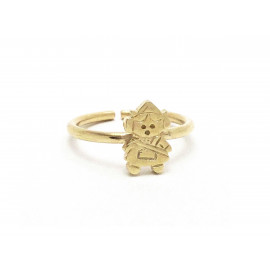 Gold Plated Fallera Ring