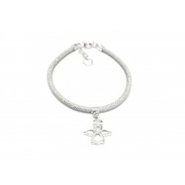 First Comunion Silver Bracelet for Girls