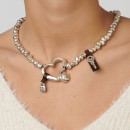 "UNO de 50 ""Heartfelt"" Necklace COL0732"
