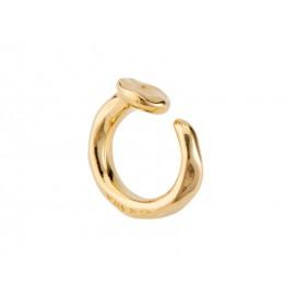 "UNO de 50 Gold ""Nail"" Ring ANI0586"