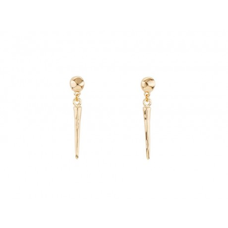 "UNO de 50 Gold ""Pointing Out"" Earrings PEN0654"