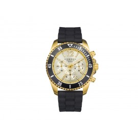 Men's VICEROY IP Gold Steel Watch