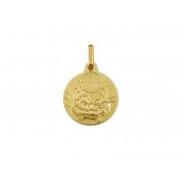 Medalla Bebé Jesusito Oro 18k