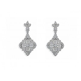 Sterling Silver Earrings with Swarovski®