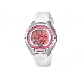 Girl's White Strap CASIO Digital Watch