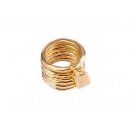 "UNO de 50 ""Prisoner"" Gold Ring ANI0057"