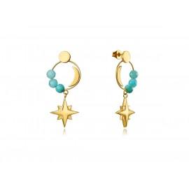 VICEROY IP Gold Steel Earrings