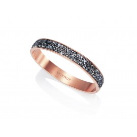 Women's VICEROY IP Rose Gold Steel Cuff