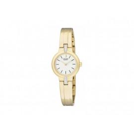 Golden Stainless Steel CITIZEN Girl's Watch