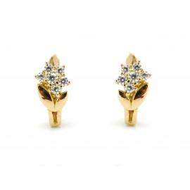 18k Gold ZC Ring for Girls