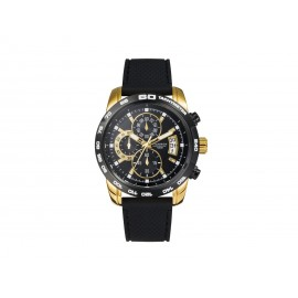 Men's VICEROY IP Gold Watch with silicone strap.