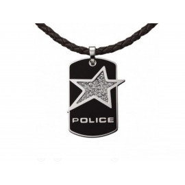 "POLICE ""Rock Star"" Steel Pendant PJ21993PLB/02"