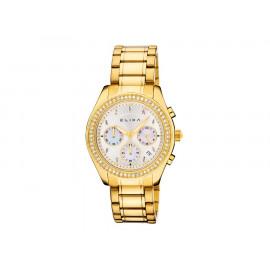 Reloj ELIXA Acero Dorado Multifunción E084-L319
