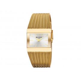 Reloj ELIXA Mujer Malla Dorada E099-L388