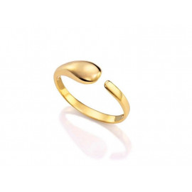 Women's VICEROY IP Gold Steel Ring