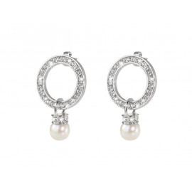 MORELLATO Steel and Pearl Earrings SRR08