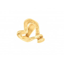 "UNO de 50 Gold ""Nailed Heart"" Ring ANI0265OR"