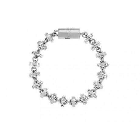 LOLA & GRACE Rondelle Silver Tone Bracelet 5140726