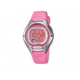 Girl's Pink Strap CASIO Digital Watch LW-200-4B