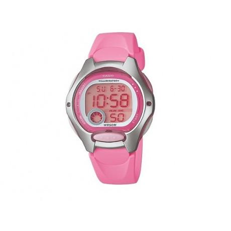 Girl's Pink Strap CASIO Digital Watch LW-200-4B