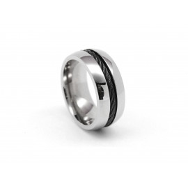 ADOLFO DOMÍNGUEZ Stainless Steel Ring AD0111