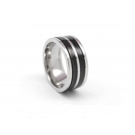 ADOLFO DOMÍNGUEZ Stainless Steel Ring AD0112