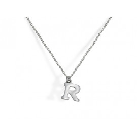 Initial Silver Necklace
