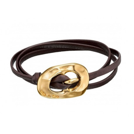 "UNO de 50 ""Around the Universe"" Gold Bracelet PUL1345"