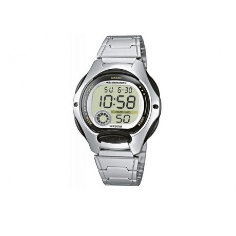 Boy's Black Bezel CASIO Digital Watch LW-200D