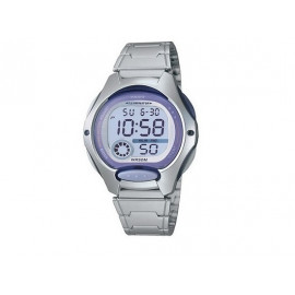 Girl's Lilac Bezel CASIO Digital Watch LW-200D