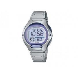 Reloj Digital CASIO Niña Bisel Lila LW-200D