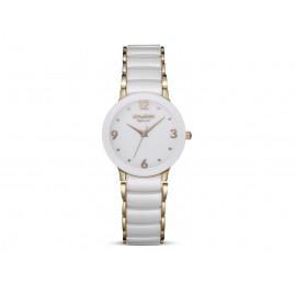 Reloj Mujer DUWARD Cerámica y Acero IP Rosa D27300.21
