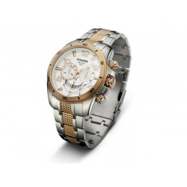 Mens' DUWARD IP Rose Gold Bicolor Watch D95500.38