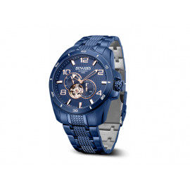 Mens' DUWARD Blue IP Automatic Watch D95801.75